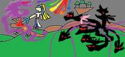 Yuki Slaying Ganondorf