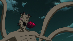 Ten Tails' Tailed Beast Bomb
