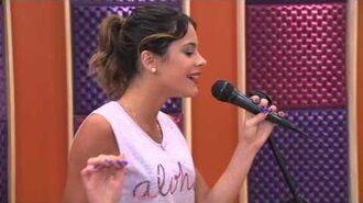 Violetta - Vilu canta en inglés (Temp 2 - Ep 27)