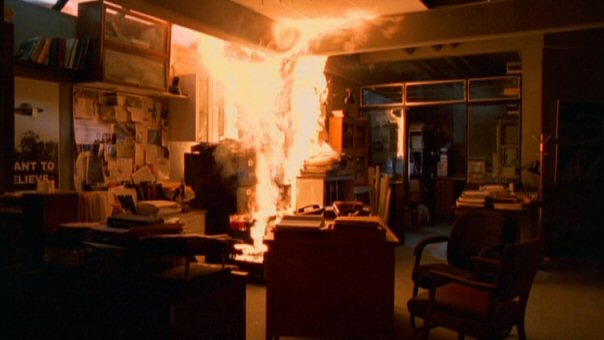 File:X-Files Office on fire.jpg