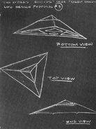 Deep Throat UFO sketch