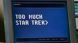 Star Trek on Lightwriter