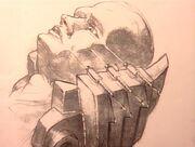 Fox Mulder's abduction sketch