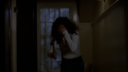 Melissa Turner Hitting Herself