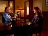 Bob Bletcher and Catherine Black talk