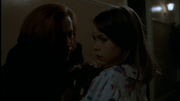 Polly Turner and Dana Scully