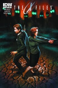 X-Files Season 10 cover artwork