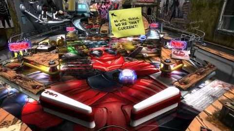 Deadpool Pinball Trailer