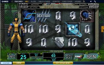 Wolverine slots-0