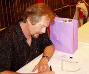Michael Whelan at the 63rd World Science Fiction Convention in Glasgow on August 2005