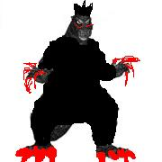 Anger Godzilla