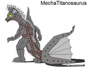 Mecha Titanosaurus by scott910