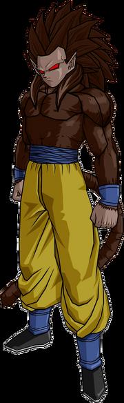 Goku ssj5 idea by db own universe arts-d4qbiw5
