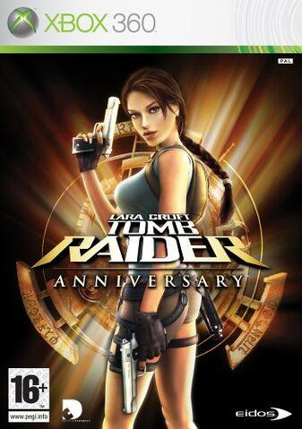 File:Lara Croft Tomb Raider Anniversary - Xbox 360.jpg