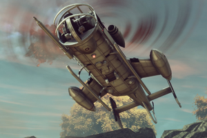 TheBureau Skyranger Landing