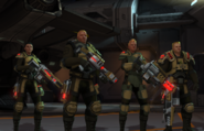 XComEU Soldiers with beam weapons