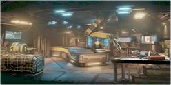 XCOM2 facility workshop