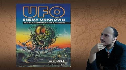 """Gaming History UFO Enemy Unknown X-COM UFO Defense """"A Sacred Monster"""""""