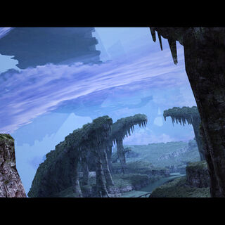 Sky of Bionis' Leg