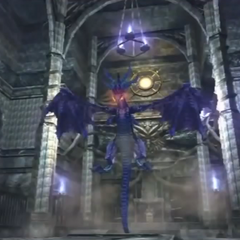 The Dragon King Alcar appearance in the Corridor of Silence