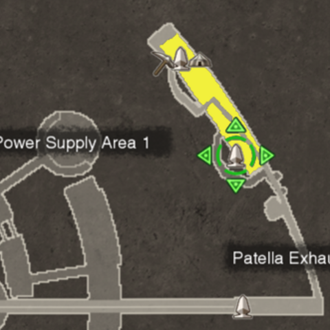 Location of the Great Battle Scar (highlighted yellow)
