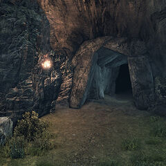 Cave Entrance in Primordia