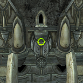 Location of the High Entia Door at the Sororal Statues