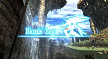 Bionis' Leg Location