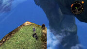 XENOBLADE Colony9 view from Colony6