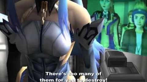 Xenosaga Episode I HD Cutscene 085 - X-BUSTER!!! - ENGLISH