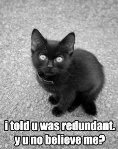 Redundant33