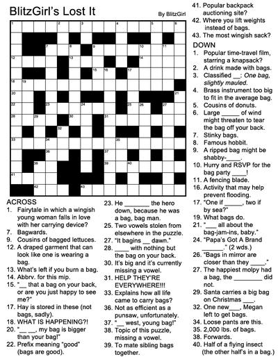 CrosswordBlitzGirlsLostIt