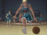 Speed & Spyke- Evan basketball