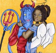 FartArt- Kanda - devil n angel