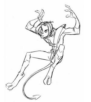 DrawKurt- jump V