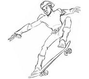 DrawEvan- skate