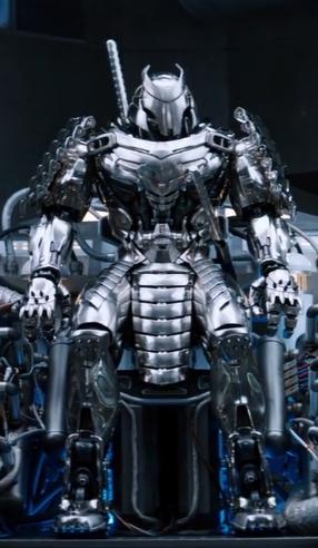 Silver Samurai Armor X Men Movies Wiki Fandom