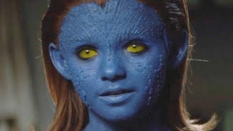 "X-Men First Class Movie Clip ""Charles Xavier Meets Mystique"" Official (HD)"