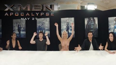 X-Men Apocalypse 360 Cast Chat HD 20th Century FOX