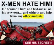 X-Men Hate Him