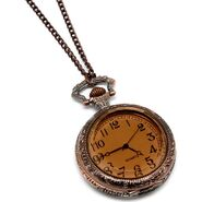 Ronas-32-inch-antique-style-brown-clock-necklace
