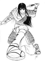 Samurai Girl by DanielKendi