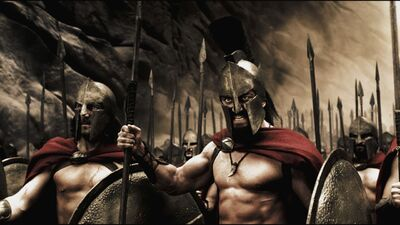 Warriors spartans 300 killers strong man 4044 1280x720