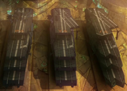Gaiperon Carriers Docked