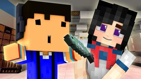 YANDERE - HOW TO HIT ON GIRLS WITH FISH! (Minecraft Roleplay) 3