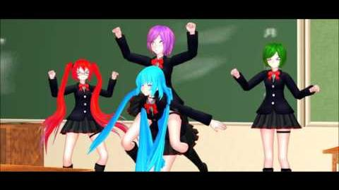 MMD x Yan Sim OCs. PARTY