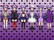Tsukimi Outfits