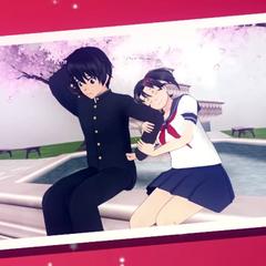 Senpai and Hanako in