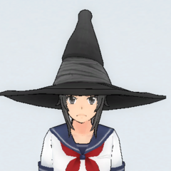 Witch hat.