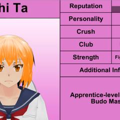 Shima's 1st profile.